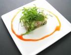 Photo Ou, Ceviche de poisson blanc à la coriandre fraîche et avocat - Bistrot Gourmand