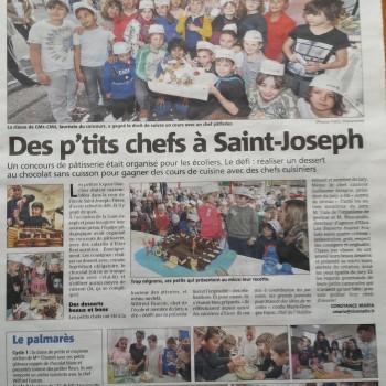 """jury du concours """"Les p'tits chefs de St Joseph"""""""